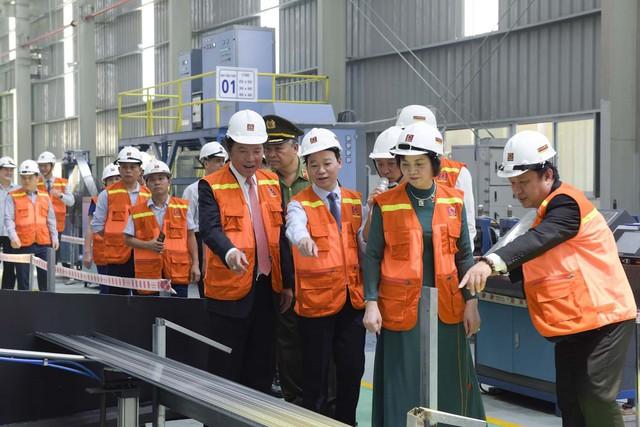 Tập đoàn Hoa Sen khánh thành giai đoạn I nhà máy tại Yên Bái - Ảnh 2.