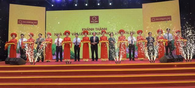 Tập đoàn Hoa Sen khánh thành giai đoạn I nhà máy tại Yên Bái - Ảnh 1.