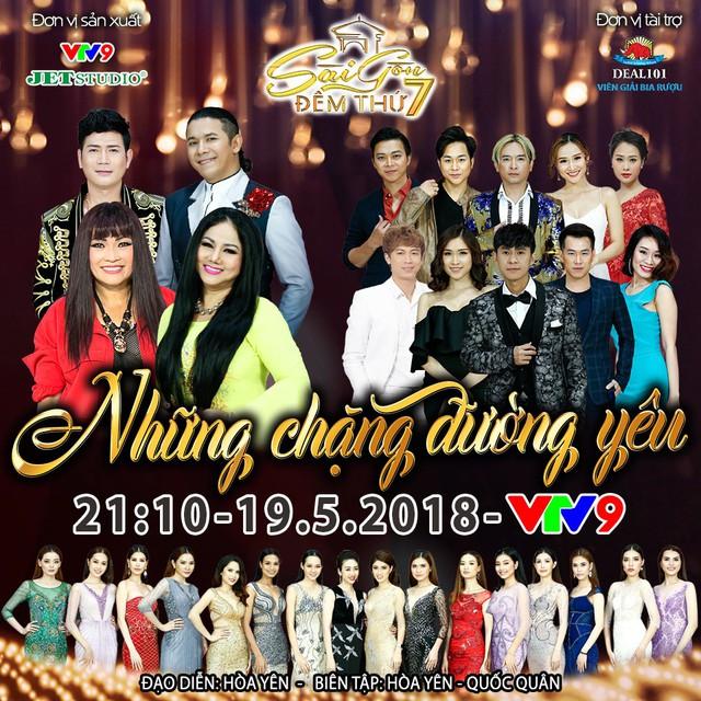 Sài Gòn đêm thứ 7: Những chặng đường yêu (21h10, VTV9) - Ảnh 1.