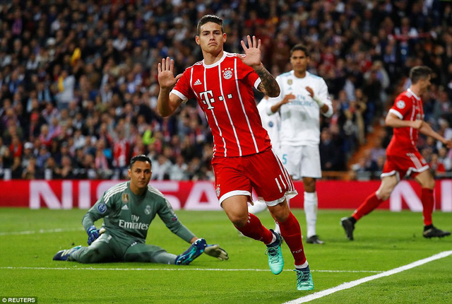 Real Madrid - Bayern Munich: Cuộc rượt đuổi kịch tính - Ảnh 4.