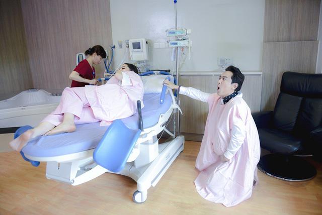 Khi đàn ông mang bầu: Trấn Thành, Trường Giang trải nghiệm cảm giác đau đớn khi sinh con - Ảnh 4.