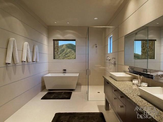 Mẫu phòng tắm đẹp hiện đại và tiện nghi - Ảnh 8.