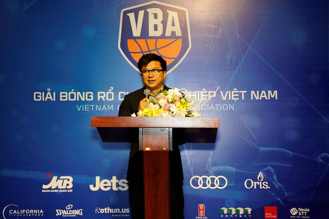 Họp báo công bố giải bóng rổ chuyên nghiệp Việt Nam - VBA 2018 - Ảnh 1.