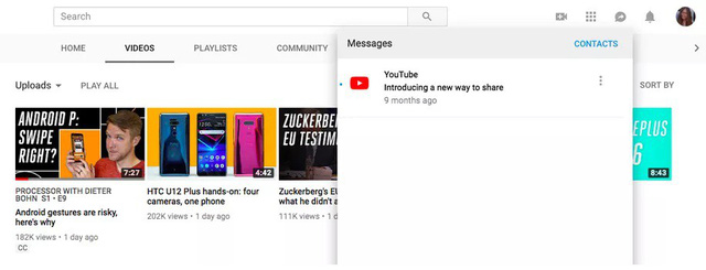 YouTube chuẩn bị tung phiên bản chat tiện lợi trên web - ảnh 1