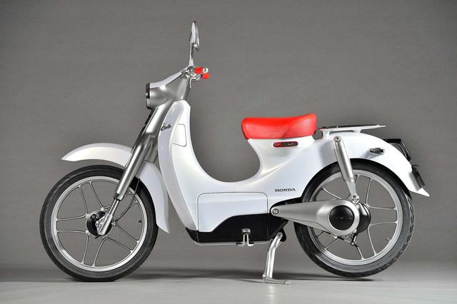 Xe máy điện nhái biểu tượng xấu lạ Honda EV-Cub xuất hiện tại Việt Nam - Ảnh 3.
