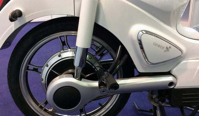 Xe máy điện giả biểu tượng xấu lạ Honda EV-Cub xuất hiện tại Việt Nam - Ảnh 6.