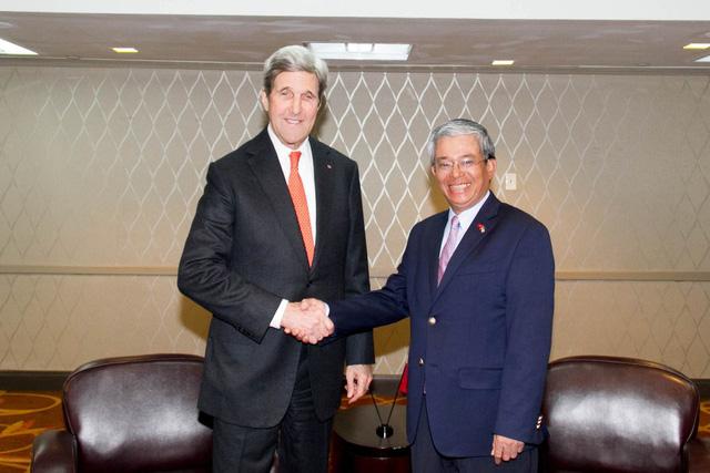 Đại sứ Việt Nam tại Hoa Kỳ tiếp tân đối ngoại chuẩn bị kết thúc nhiệm kỳ - Ảnh 6.