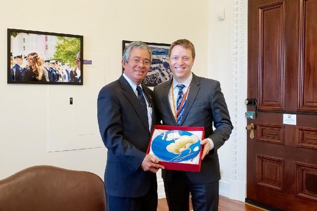 Đại sứ Việt Nam tại Hoa Kỳ tiếp tân đối ngoại chuẩn bị kết thúc nhiệm kỳ - Ảnh 2.