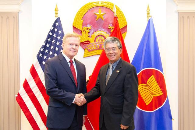 Đại sứ Việt Nam tại Hoa Kỳ tiếp tân đối ngoại chuẩn bị kết thúc nhiệm kỳ - Ảnh 3.