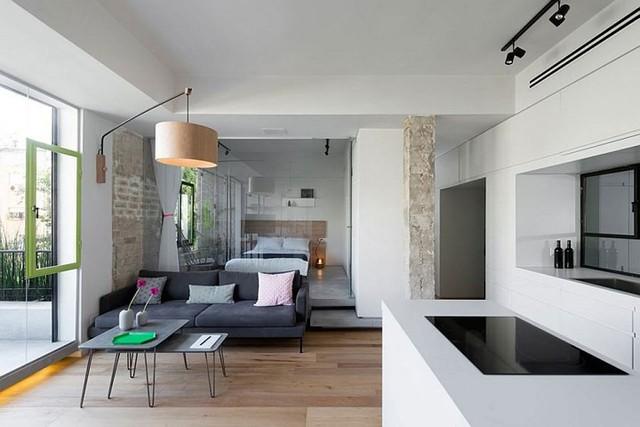 Căn hộ 67m2 trang trí tuyệt đẹp nhờ nội thất đa năng - Ảnh 1.