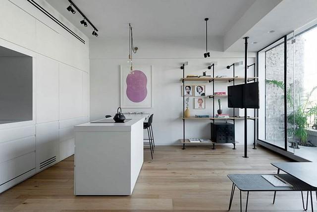 Căn hộ 67m2 trang trí tuyệt đẹp nhờ nội thất đa năng - Ảnh 2.