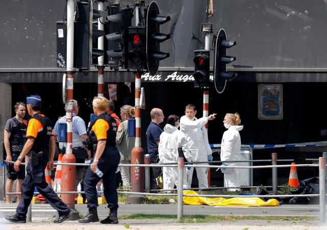 Vụ tấn công tại Bỉ làm 2 nữ cảnh sát thiệt mạng: Hung thủ đã bị tiêu diệt - Ảnh 4.