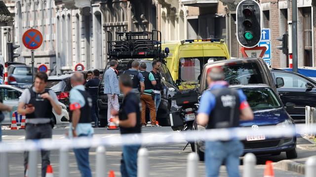 Điều tra vụ tấn công khiến 3 người thiệt mạng tại Bỉ - Ảnh 1.