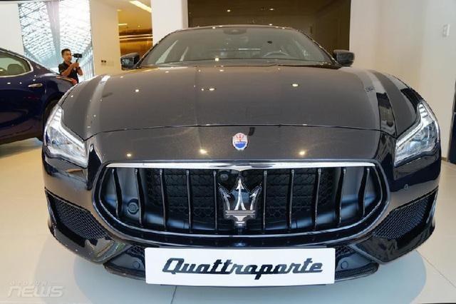 Ngắm Maserati Quattroporte GranSport GTS Nerissimo cực hiếm - Ảnh 2.