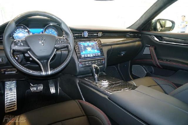 Ngắm Maserati Quattroporte GranSport GTS Nerissimo cực hiếm - Ảnh 4.