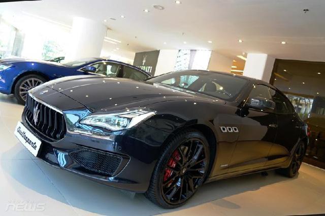 Ngắm Maserati Quattroporte GranSport GTS Nerissimo cực hiếm - Ảnh 5.