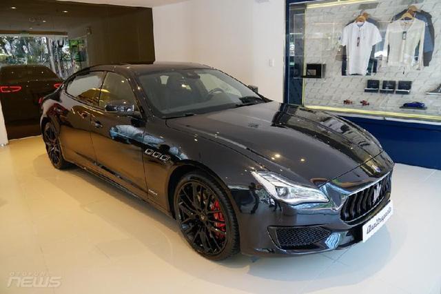 Ngắm Maserati Quattroporte GranSport GTS Nerissimo cực hiếm - Ảnh 1.