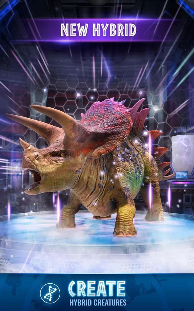 """Jurassic World Alive - Game Pokémon GO phiên bản """"khủng long"""" cập bến nền tảng Android - Ảnh 6."""