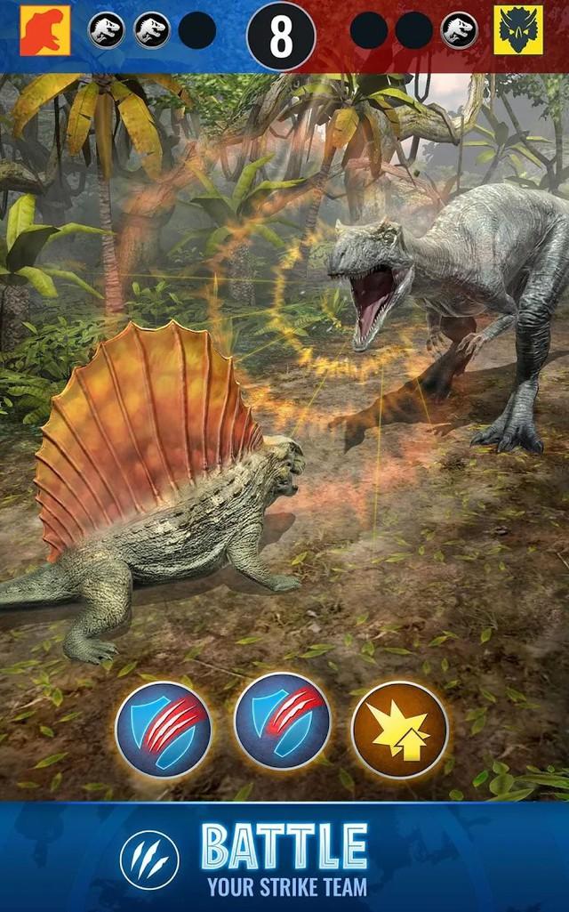 """Jurassic World Alive - Game Pokémon GO phiên bản """"khủng long"""" cập bến nền tảng Android - Ảnh 4."""
