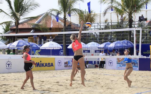Vòng loại Giải bóng chuyền bãi biển nữ thế giới – Tuần Châu Hạ Long mở rộng 2018 - Ảnh 2.