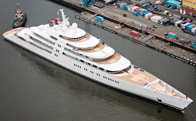 Những siêu du thuyền đắt đỏ nhất thế giới - Ảnh 12.