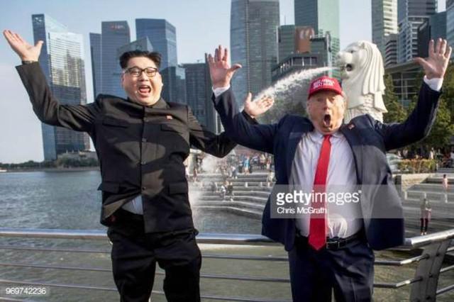 Tổng thống Mỹ và nhà lãnh đạo Triều Tiên đã đến Singapore? - Ảnh 3.