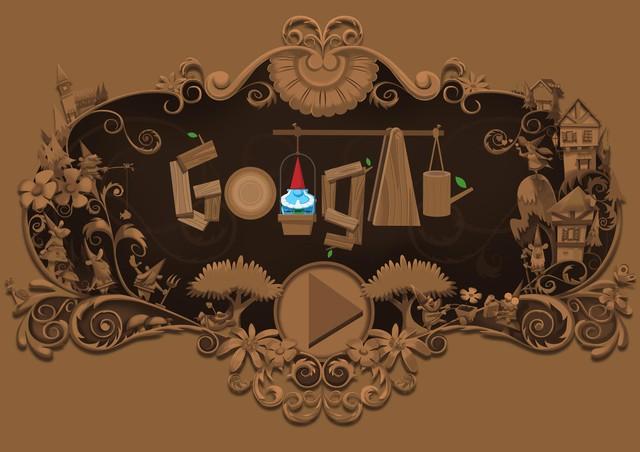 Google thay ảnh đại diện, tôn vinh thần lùn gác vườn - Ảnh 2.