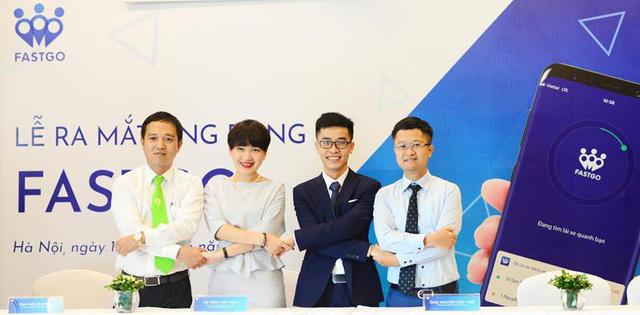 Công ty Việt ra mắt ứng dụng gọi xe FastGo cạnh tranh với Grab - Ảnh 1.