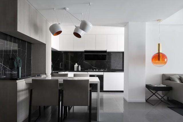 Căn hộ màu trắng thiết kế đơn giản và tinh tế - Ảnh 5.