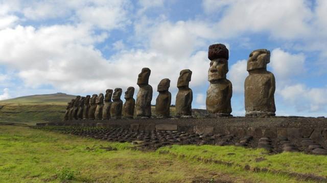 Tượng khổng lồ trên đảo Phục sinh được đội mũ bằng cách nào? - Ảnh 8.