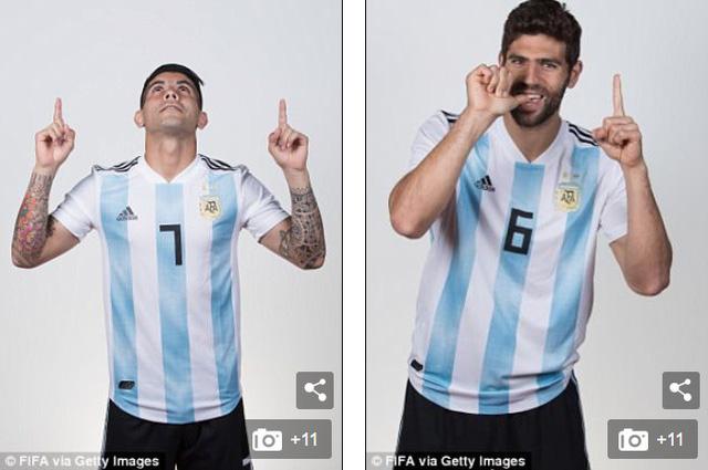 """Messi và các cầu thủ Argentina tung ảnh World Cup 2018 cực """"ngầu"""" - Ảnh 7."""