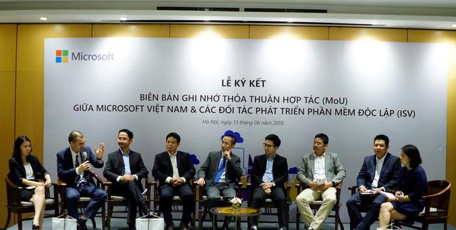 Microsoft đẩy mạnh hợp tác với các đối tác phát triển phần mềm độc lập Việt Nam - Ảnh 1.