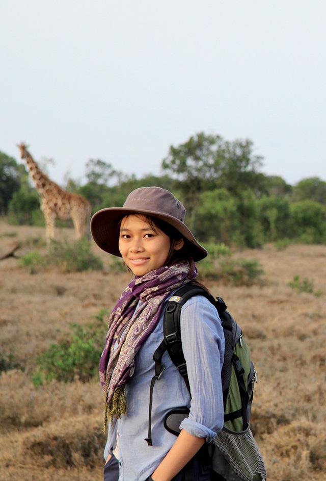 Cô gái 9x Việt Nam đi xuyên địa cầu để bảo vệ động vật hoang dã - ảnh 2