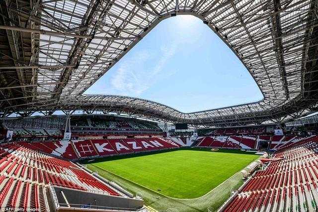 Danh sách chính thức 12 sân vận động tổ chức World Cup 2018 - Ảnh 2.