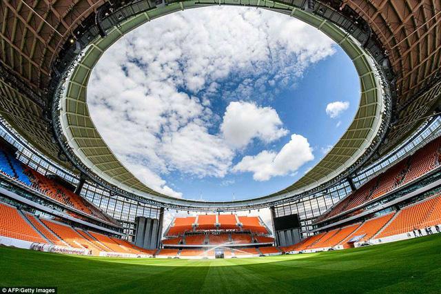Danh sách chính thức 12 sân vận động tổ chức World Cup 2018 - Ảnh 3.