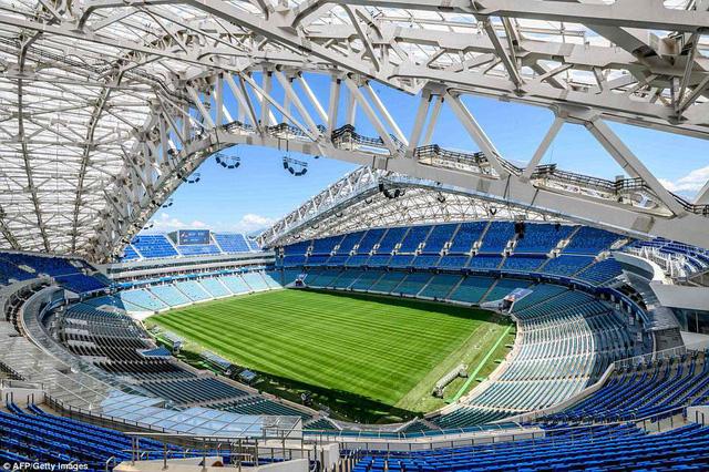 Danh sách chính thức 12 sân vận động tổ chức World Cup 2018 - Ảnh 5.
