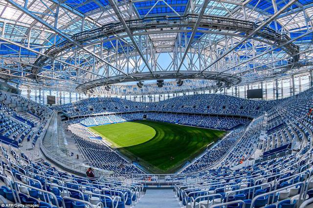 Danh sách chính thức 12 sân vận động tổ chức World Cup 2018 - Ảnh 11.