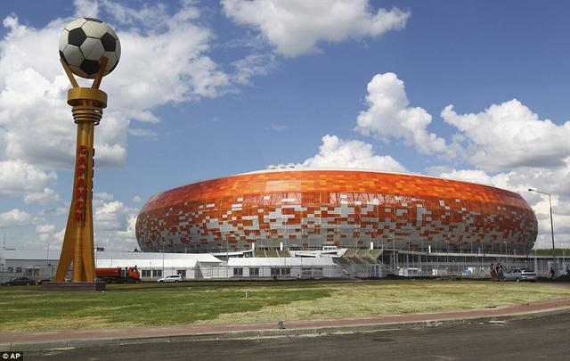 Danh sách chính thức 12 sân vận động tổ chức World Cup 2018 - Ảnh 19.