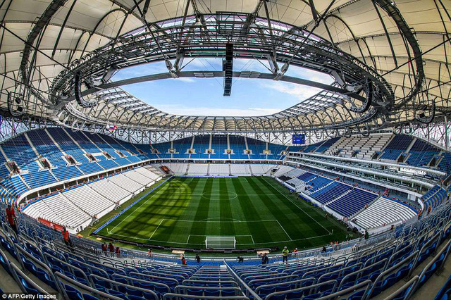 Danh sách chính thức 12 sân vận động tổ chức World Cup 2018 - Ảnh 21.