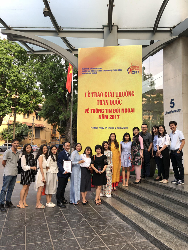 Đài THVN giành giải Nhất giải thưởng toàn quốc về thông tin đối ngoại 2017 - Ảnh 1.