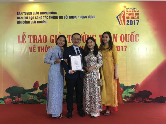 Đài THVN giành giải Nhất giải thưởng toàn quốc về thông tin đối ngoại 2017 - Ảnh 2.