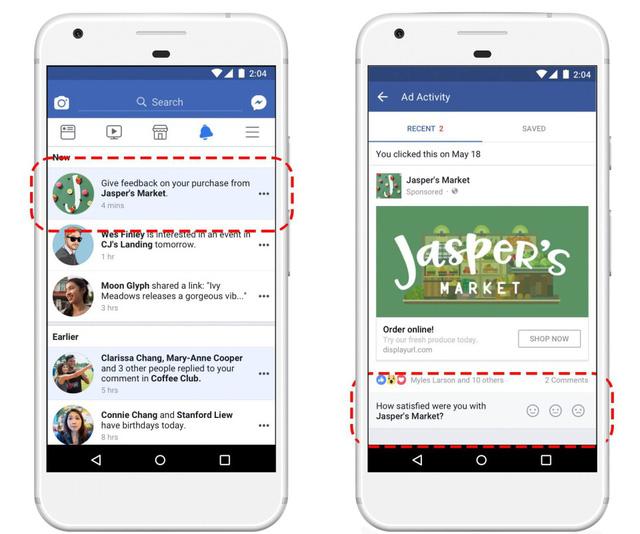 Facebook cho phép người dùng đánh giá doanh nghiệp khi mua hàng - Ảnh 1.