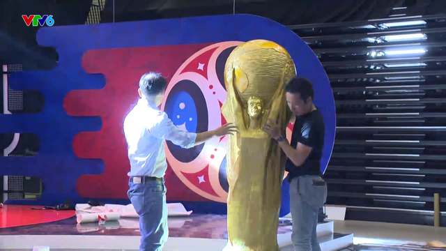 Giờ G sắp điểm - VTV rộn ràng không khí World Cup 2018 - Ảnh 2.