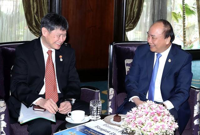 Thủ tướng gặp lãnh đạo các nước và Tổng Thư ký ASEAN - Ảnh 1.