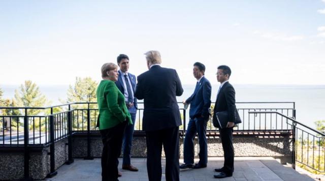 Tổng thống Mỹ đăng ảnh bác bỏ việc bất hòa với các lãnh đạo G7 - Ảnh 4.