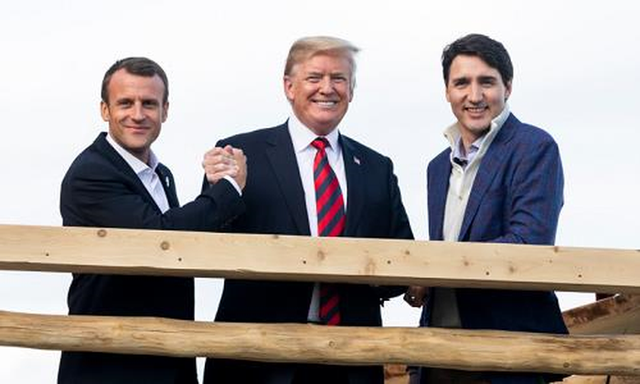 Tổng thống Mỹ đăng ảnh bác bỏ việc bất hòa với các lãnh đạo G7 - Ảnh 2.