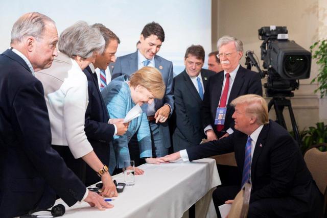 Tổng thống Mỹ đăng ảnh bác bỏ việc bất hòa với các lãnh đạo G7 - Ảnh 5.