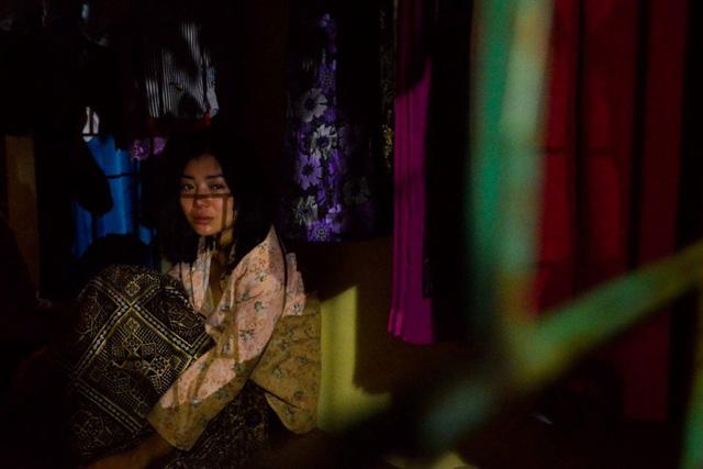 Thanh Hương kiệt sức sau cảnh phim khủng khiếp trong Quỳnh búp bê - Ảnh 1.