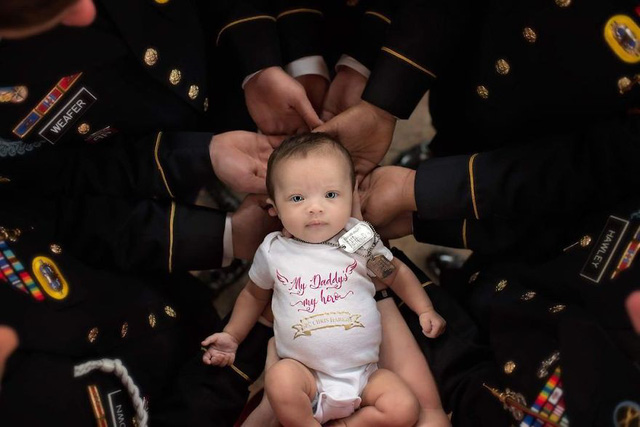 Câu chuyện cảm động của bé gái 3 tháng tuổi và người cha đã qua đời - Ảnh 5.