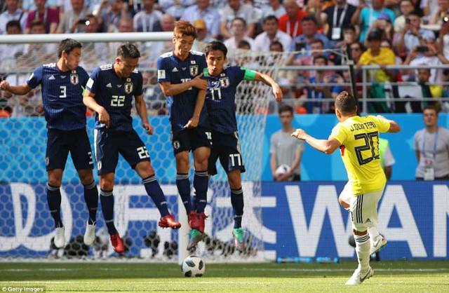 Chấm điểm ĐT Colombia 1-2 ĐT Nhật Bản: Tệ nhất Carlos Sanchez! - Ảnh 2.